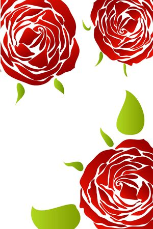 red rose Stock Vector - 8815439