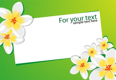 Floral background Stock Vector - 8815448