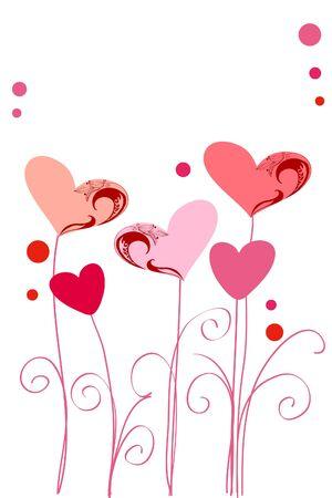 pink hearts: Hearts