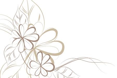 flore: Floral background