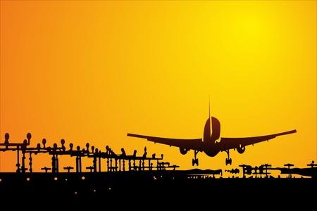 avioncitos: Aviones Vectores