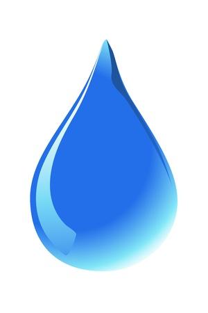 sudando: gotas de agua Vectores