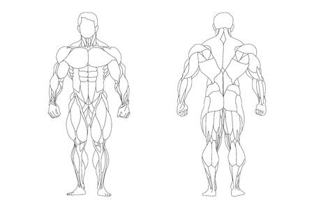a strong man silhouette Stock Vector - 9550406