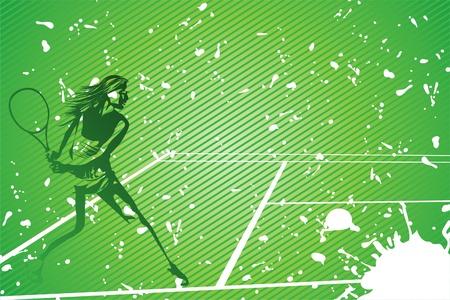 racquet: tennis