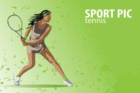 tennis racquet: tennis