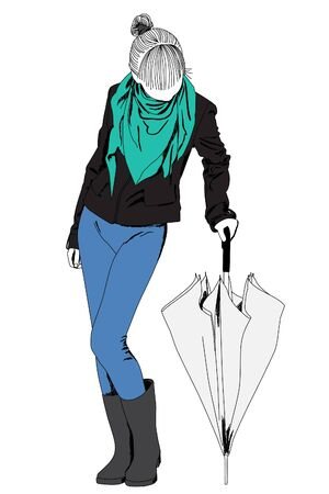 catwalk model: Bella signora moda