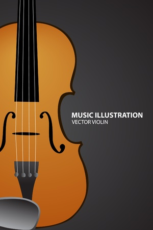 stradivarius: violin Illustration