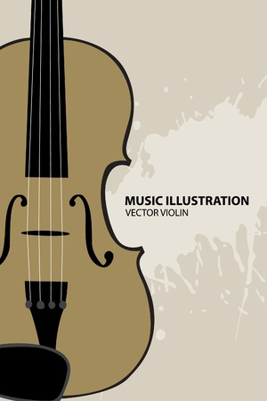 violin Stock Vector - 10317936