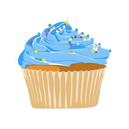 pink cake: Cupcake