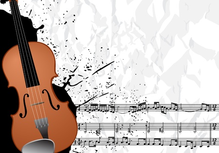 fiddles: Music illustration