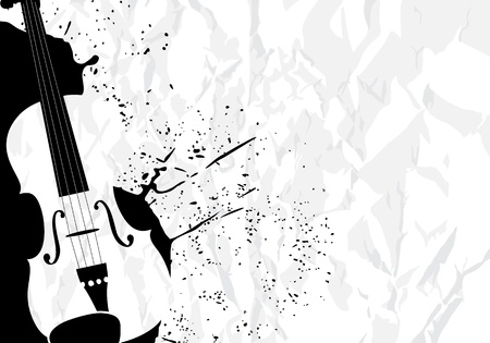 stringed: Music illustration