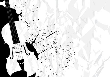 geigen: Musik illustration