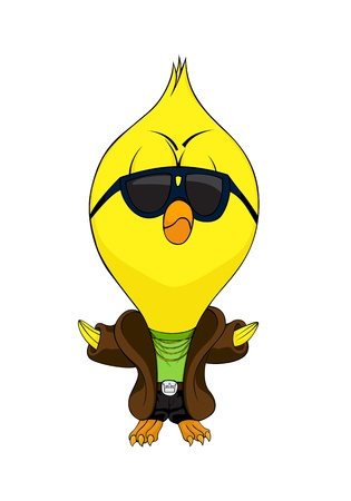 Cartoon chick Stock Vector - 11261164