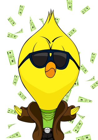 Cartoon chick Stock Vector - 11261068