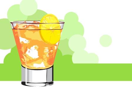 bleb: Orange juice