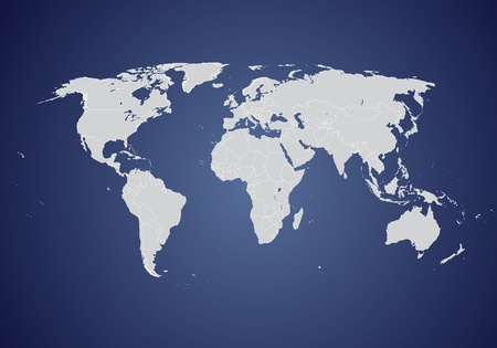 digital world: World map