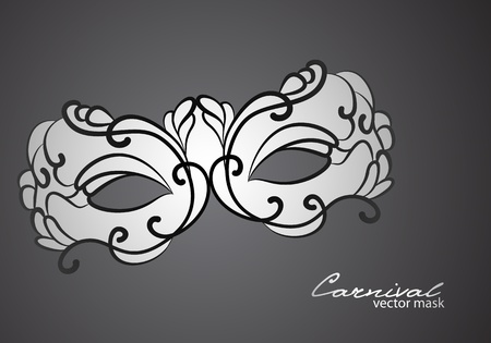 beauty mask: Carnival mask