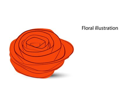 rose garden: Floral background