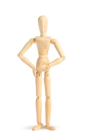 Wooden figure Stock Photo - 12808088