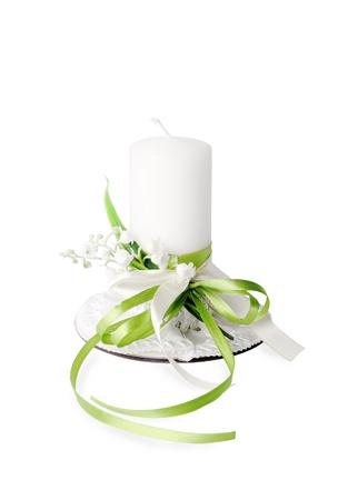 Beautiful candle photo