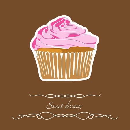 Cupcake Stock Vector - 13019798