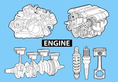Vector engines Illustration