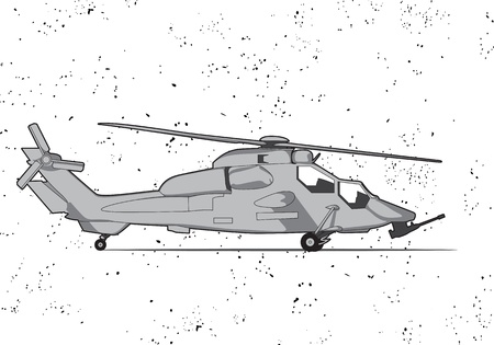 Helicopter Stock Vector - 14018256