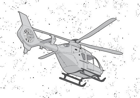television aerial: Helicopter