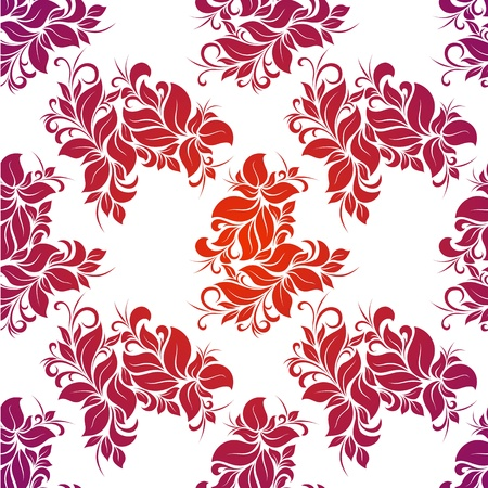 Bright floral seamless Stock Vector - 14264335