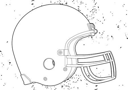nfl: football helmet