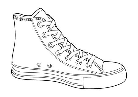 contorno: Zapatillas