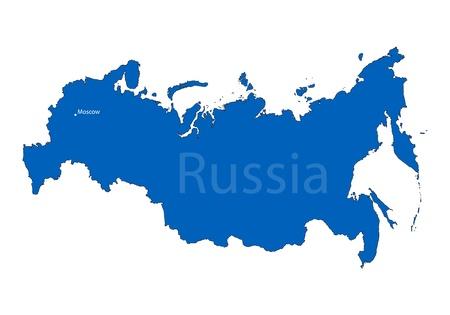 russland karte: Russland