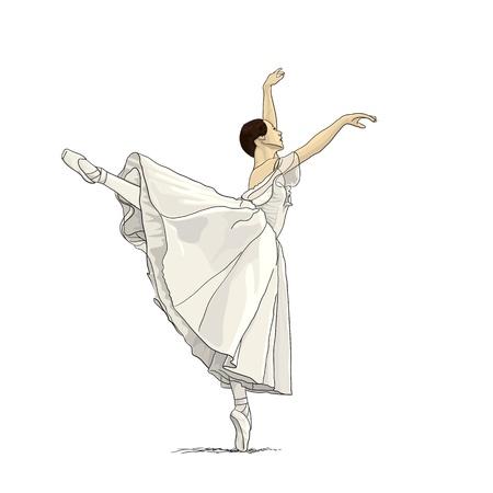 Ballerina Stock Vector - 19219888