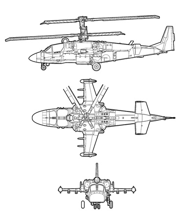 the air attack: Helicopter