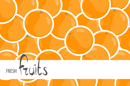 Juicy oranges for a background with a place for an inscription