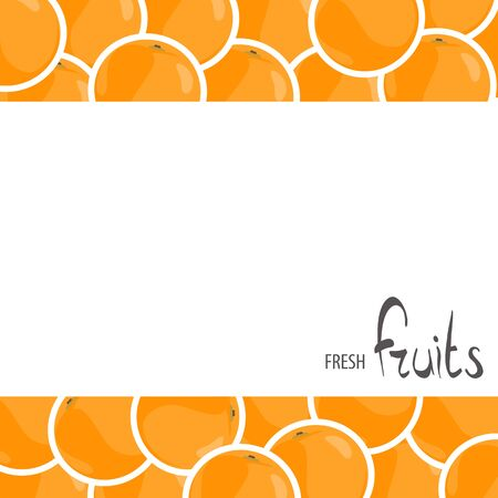 A lot of juicy oranges with white background for your inscription