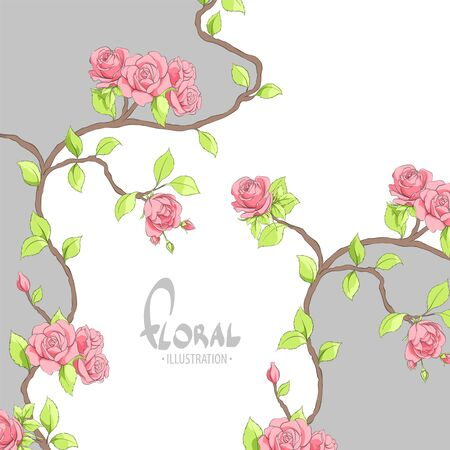 Magnificent Roses with a place for your inscription