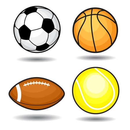 Sport balls   Stock Vector - 14071479