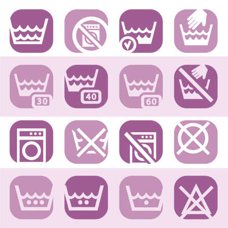 Elegant Colorful Clearning Icons Set Created For Mobile, Web And Applications Stock Vector - 18621287