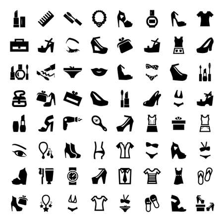 64 Elegant Construction And Repair Icons Set Created For Mobile, Web And Applications. Stock Vector - 21729677