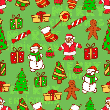 amiable: Christmas vector seamless pattern. Vector Christmas design. Perfect for greeting cards, wrapping paper, blogs, packing and ect. Illustration