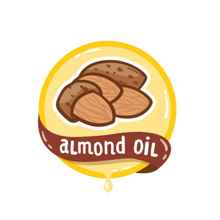 Almond oil icon