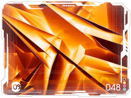 Seria of very big blank backgrounds. Orange tone variation Stock Photo - 631672