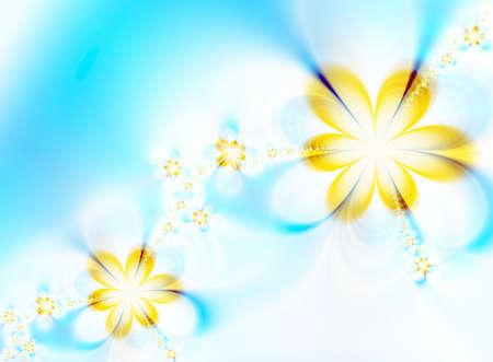 Dreamlike flowers photo