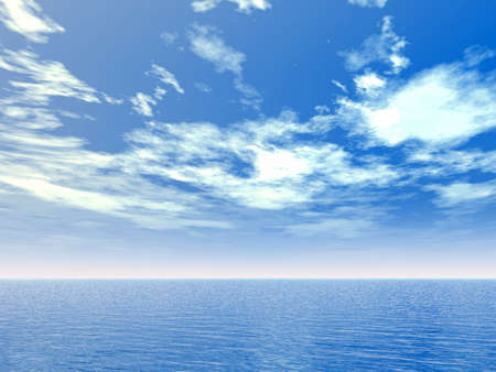 clouds scape: Seascape