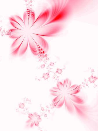 dreamlike: Dreamlike flowers Stock Photo