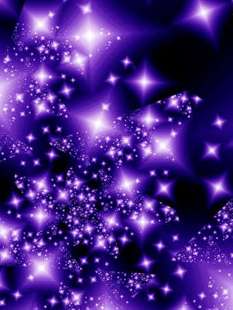 multitude: Stars in the night Stock Photo