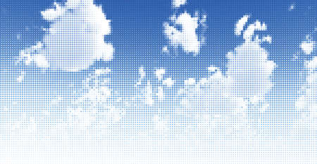 Sky and clouds. Vector illustration Stock Vector - 10527840