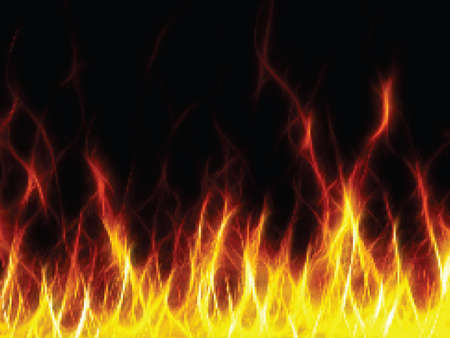 Fire. Vector ilustration