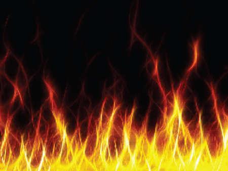ilustration: Fire. Vector ilustration